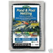 Protective Pond Net Covering 28 feet by 45 feet
