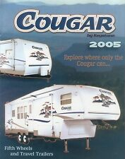 Keystone Cougar Travel Trailers Prospekt 2005 fifth wheel Wohnwagen Autoprospekt