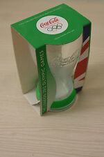 Coca Cola London 2012 Olympics glass NEW