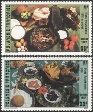 French Polynesia 1987 Traditional Food/Cooking/Dishes/Gastronomy 2v set (n37504)