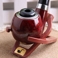 Foldable Stand Meerschaum Smoking Pipe Tobacco Plastic Cigar Pipes Rack Holder