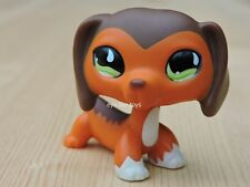 Hasbro Littlest Pet Shop RARE LPS #675 Savvy Savannah Dachshund Dog Teardrop Eye