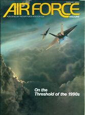1989 Air Force Magazine: On the Threshold of the 1990s/Future