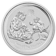 5 onza Lunar II Año del Mono Year of the Mono 2016 8 AUD Perth Moneda Nuevo Raro