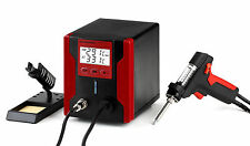 UK-LEAD FREE DESOLDERING STATION WITH LCD PANEL ZD-8915 RED