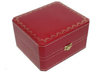 Cartier Jewelry Box Ring Necklace BOX ONLY Empty Red COWA 0043