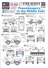 Star Decals 1/35 PEACEKEEPERS IN THE MIDDLE EAST Part 1