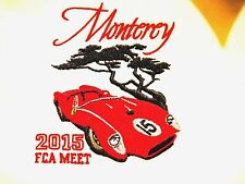 Ferrari Club America FCA Women L Shirt 2015 Ferrari Monterey Meet Pebble Beach