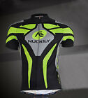 New Mens Cycling Top Full Zipper Short Sleeve Sports Jersey Wear Size M-XXL