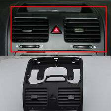 OE Black Front Dash Central Air Outlet Vent For VW Jetta Golf GTI Rabbit MK5 MKV