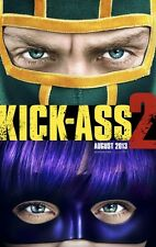 KICK-ASS 2 ORIGINAL Advance DOUBLE SIDED MOVIE FILM POSTER 69x102cm Hit Girl