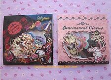 Kawaii Lot, San-x Sentimental Circus, 2-pack of sticker flakes, 120 pieces