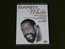 BARRY WHITE LEGENDS IN CONCERT LIVE DVD SEALED Anita Baker Barbra Streisand