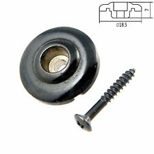 1 Pcs Black Electric Bass Guitar String Tree Retainers Guitar parts XD02