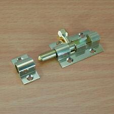 38mm in Ottone Massiccio Door Latch Barrel Bolt sicurezza Slide LOCK INDOOR OUTDOOR