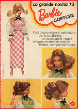 Pubblicità Advertising MATTEL 1973 BARBIE Coiffure (1)