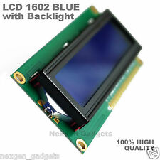 LCD1602A Blue screen 16x2 Character LCD Display Module HD44780 for Arduino , RPi