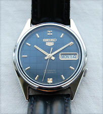 SEIKO 5 – 7019 – 6081 - Mens Wrist Watch – Day/Date display – Automatic - 1970