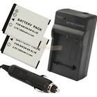 2 x EN-EL19 ENEL19 Battery + Charger for Nikon CoolPix S3100 S4100