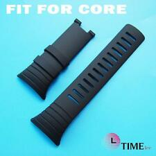 Replacement FOR SUUNTO CORE NEW WATCHBANDS   RUBBER STRAP BAND Without buckle