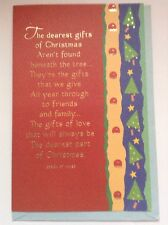 Vintage Christmas Card special Friend/family Unused+env Jessica St. James