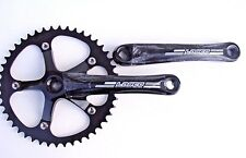 NEW Lasco Black 46T CrankSet Single Speed 170mm FIXIE Square taper
