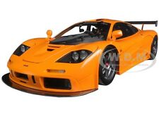 1995 MCLAREN F1 LM-XP1 ORANGE LTD. 3000PCS 1/18 DIECAST MODEL CAR BY TSM 131806