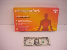 Body Comfort Click Activated Instant Heat Pack - Sports - Arthritis -