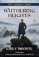 Wuthering Heights - Unabridged MP3 CD Audiobook in DVD case