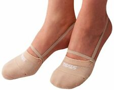 Sasaki Japan RG Rhythmic Gymnastics Half Demi Shoes Socks 153 Beige Size:S