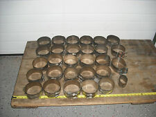 Large lot of Stainless steel No Hub Pipe Couplings, Pipe Clamps