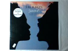 "MICHAEL JACKSON Scream 12"" 4 TRACKS JANET DAVID MORALES NAUGHTY BY NATURE"