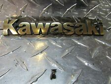 1987 87 Kawasaki ZL1000 ZL 1000 Gas Tank Gastank Fuel Cell Badge Emblem Label