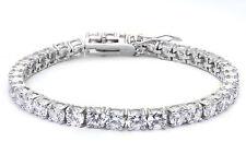 """TOP SELLER! 10.5CT Tennis Bracelet Russian CZ .925 Sterling Silver Bracelet 7"""""""