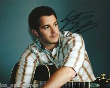 """Easton Corbin REAL hand SIGNED promo 8x10"""" photo #3 All Over The Road"""