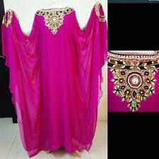 Women Abaya Galabia heavy embroidery beaded and sequins stylish Long Sleeve