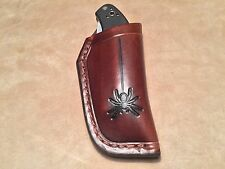 Custom Leather Sheath for SPYDERCO Manix 1 original and Sage 1