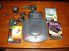 Atari Jaguar Video Game System + 2 Games & Team Tap