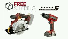CORDLESS CIRCULAR SAW & BRUSHLESS DRILL SET FREE POST & WARRANTY