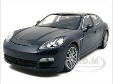 PORSCHE PANAMERA S BLUE 1:24 DIECAST MODEL CAR BY WELLY 24011