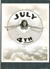 ESTHER WILLIAMS IN A GREAT 4TH OF JULY CLARENCE S BULL PHOTO - 1944 PUBLICITY