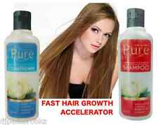 FAST PURE HAIR GROWTH ACCELERATOR SHAMPOO & CONDITIONER ✪ Grow Hair Rapid Faster