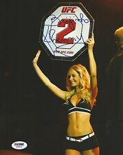 Jhenny Andrade Signed UFC 8x10 Photo PSA/DNA COA Octagon Girl Picture Autograph