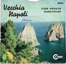 45 giri Piero Valli - Core 'ngrato / Marechiare (ITA 1964 Combo Records 4043)
