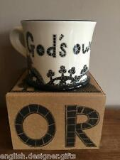 NEW Moorland Pottery Yorkshire God's Own County Gift Boxed Mug