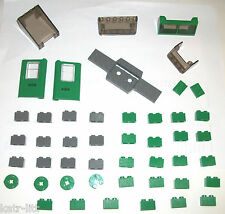 LEGO Green Cargo Train 4872 2877 4176 32038 4182 4181 Door 6567 52036 4 7898 lot