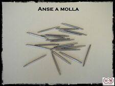 Anse a molla acciaio inox: larghezza 18-20-22mm. Stainless steel spring bars