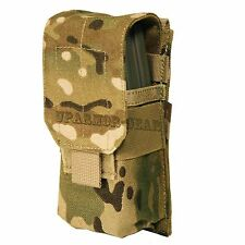 Multicam MOLLE Single Rifle 5.56 mm .223 Cal Magazine Mag Pouch (CONDOR MA5)