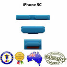 for iPhone 5C - Side Button Set (Volume, Power & Mute Button) BLUE- Repair Parts
