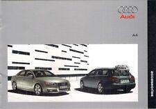 AUDI A4 BERLINA & Avant ACCESSORI 2004-2005 Regno Unito delle vendite sul mercato opuscolo